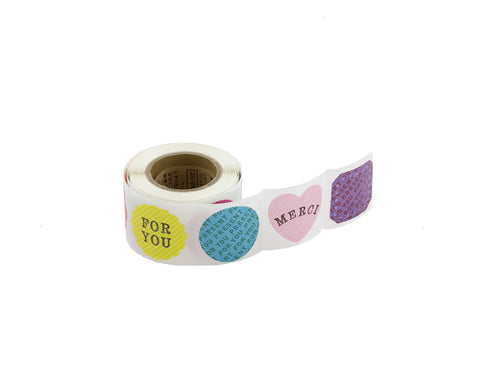 Colorful Message Sticker Roll