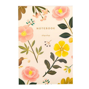 Cream Blossom Notebook
