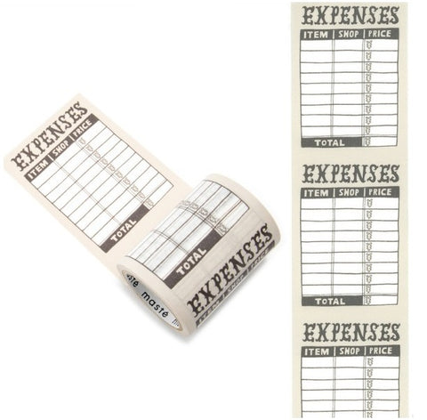 Expenses Tape