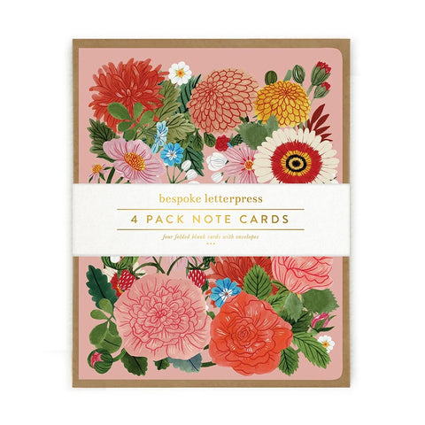 Folk Floral Card Set