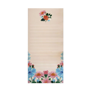 Folk Floral Notepad