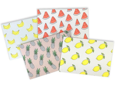 Assorted Fruit Stationery Set