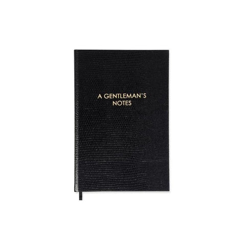 A Gentleman's Notes Pocket Notebook