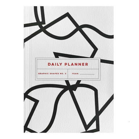 Graphic Shapes Daily Planner