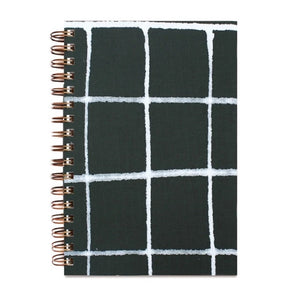 Green Grid Notebook