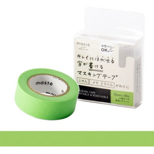Green Write-On Tape