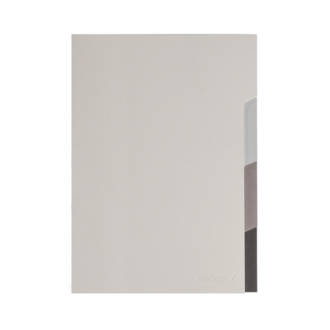 Grey Tabs Notebook