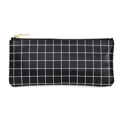 Grid Pencil Pouch