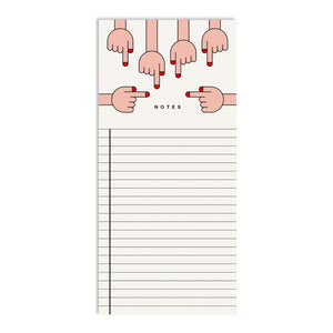 Hands Notepad