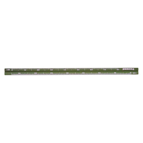 Hunter Green Drafting Scale