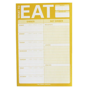 What To Eat Meal Planner