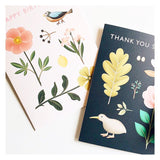 Kiwi Botanical Thank You Card
