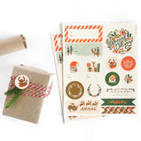 Holiday Sticker Labels