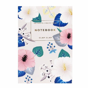 Ivory Hibiscus Notebook
