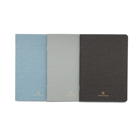 Linen Pocket Notebooks