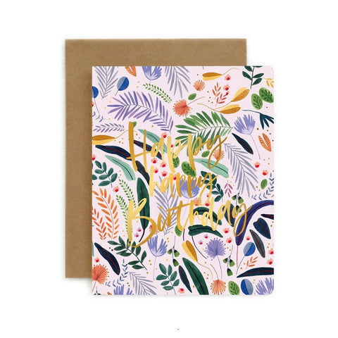 Jungle Happy Happy Birthday Card