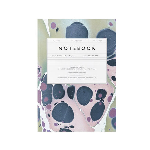 Lavender Marble Notebook