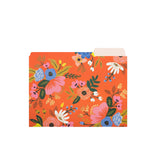 Lively Floral File Folder Set