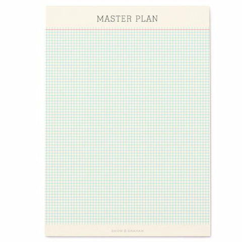Master Plan Notepad