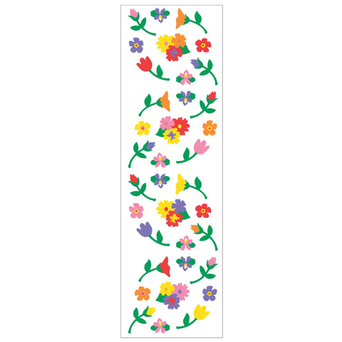 Micro Flower Stickers