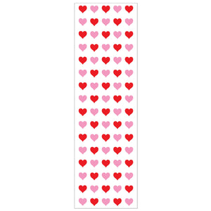 Micro Red & Pink Heart Stickers