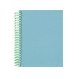 Mint & Sky Spiral Notebook
