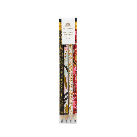 Modernist Writing Pencil Set