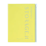 Neon Yellow Storage Notebook