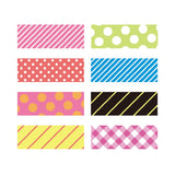 Neon Pattern Mix Tape Set