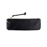 Noir Leather Pencil Case