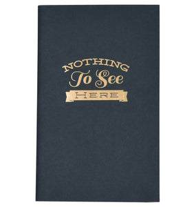 Nothing To See Here Notebook