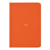 Orange XO Notebook