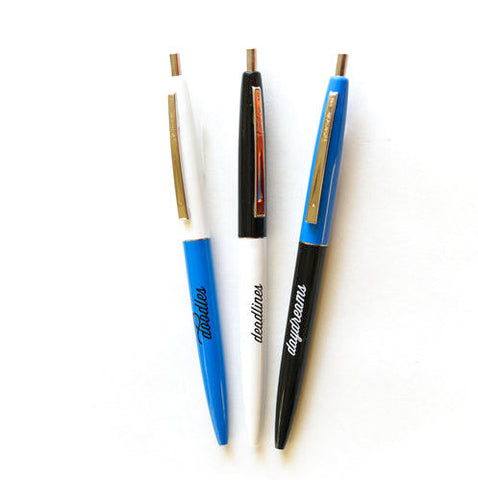 The Blue Doodles Pen Set