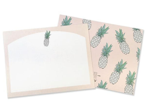 Pineapple Stationery Set