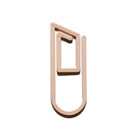 Pink Paperclip Bookmark