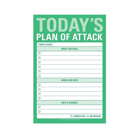 Plan of Attack Sticky