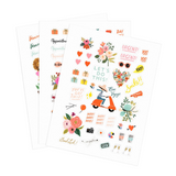 Planning Sticker Sheets