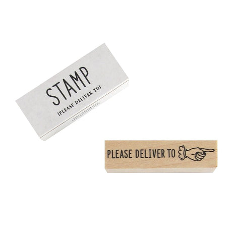 Please Deliver To Stamp