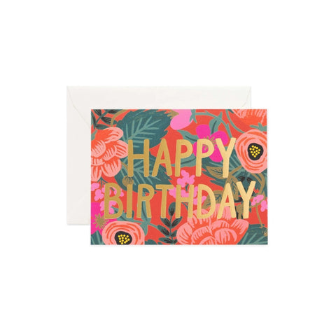 Poppy Birthday Card Set