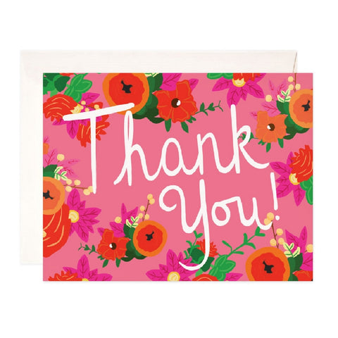 Poppy Thank you Card