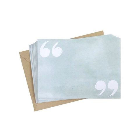 Quotation Notecard Set