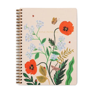 Poppy Botanical Notebook