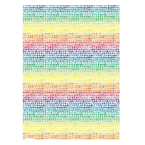 Rainbow Dot Wrapping Paper