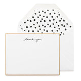 Scatter Dot Thank You Card Boxset