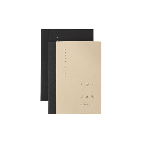 Black & Ivory Pocket Notebook Set
