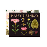 Spring Botany Birthday Card