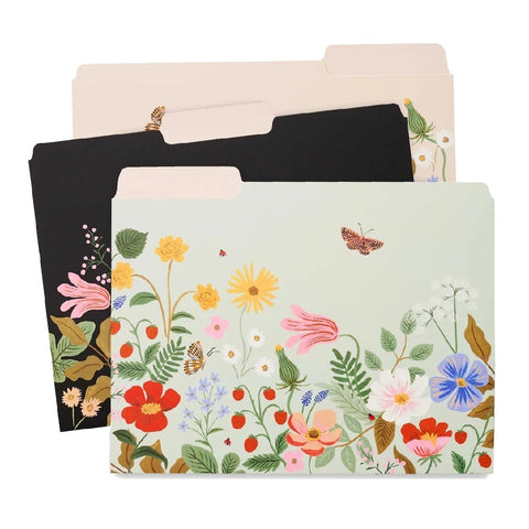 Strawberry Fields File Folder Set