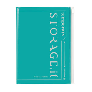 Turquoise Storage Notebook