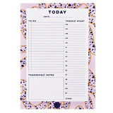Terrazzo Ropes Daily Planner Pad