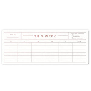This Week Notepad